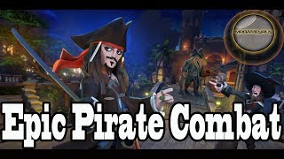 Disney Infinity Co-op (nephew) Epic Pirate Combat Toy Box- 1080p Hd
