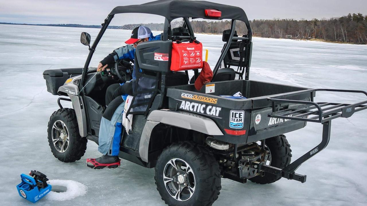 modern gear for the mobile ice angler