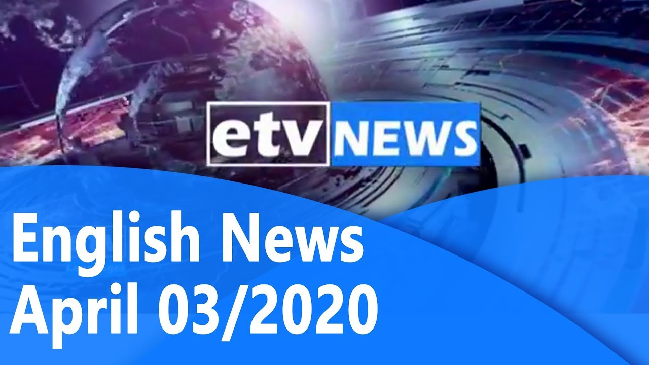 #English News April 03/2020