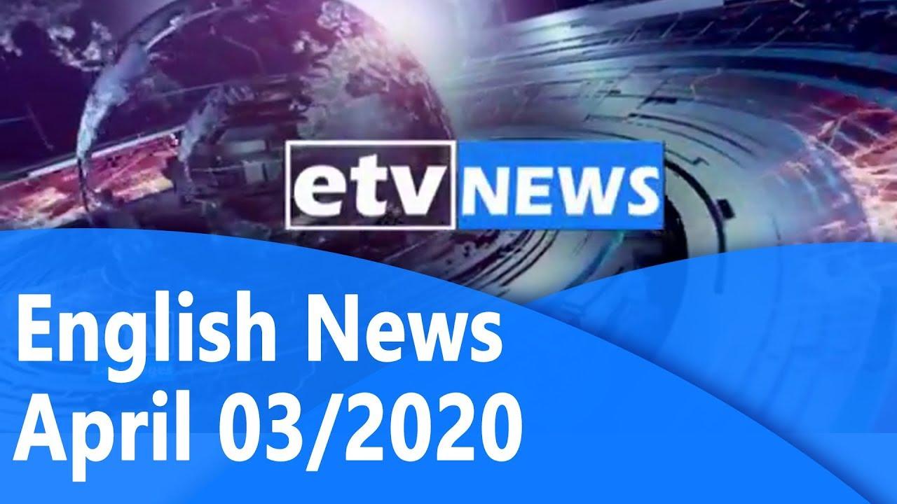 #English News April 03/2020