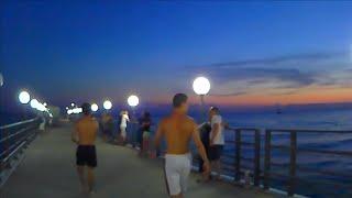 Лазаревское 2020 Большая прогулка вдоль моря и набережной Сочи 2020 сезон в разгаре