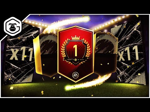 NUMBER 1 IN THE WORLD 40/40 FUT CHAMPIONS REWARDS! | ULTIMATE TOTW PACK!