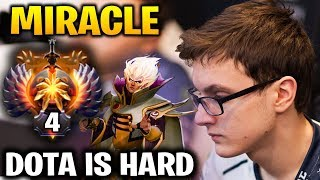 Miracle Invoker + Shadow Fiend: Dota Is A Hard Game!