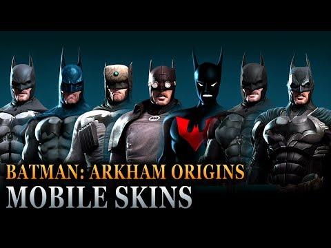 Batman: Arkham Origins Mobile - Batsuit Skins