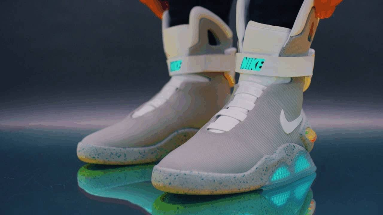 6f2991d359a60 Michael J Fox's 'Back to the Future' Nike shoes to help speed a cure for  Parkinson's