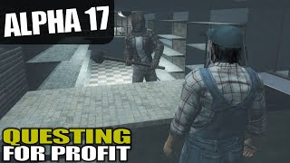 ALPHA 17 | HOW GOOD IS QUESTING EARLY GAME? | 7 Days to Die Alpha 17 Gameplay | S17.4E04