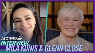 Mila Kunis Raves Over Glenn Close's Oscars Twerking