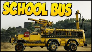 Crossout ➤ School Bus! Derp Bus Taking Kids To School - 100 Mm Cannon [Crossout Gameplay]