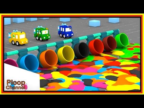 PAINTBALL PARK! - Cartoon Cars Cartoons for Children
