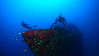 Karol Meyer * Mergulho profundo no naufrágio Corveta Ipiranga - Fernando de Noronha