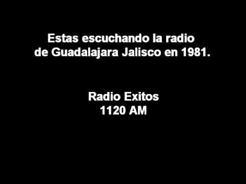 RADIO AM DE GUADALAJARA JALISCO EN 1981.