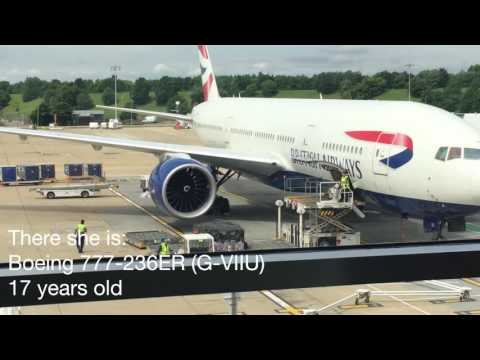 British Airways 777-200 Economy Flight Review In 4K, London Gatwick- Punta Cana Airport