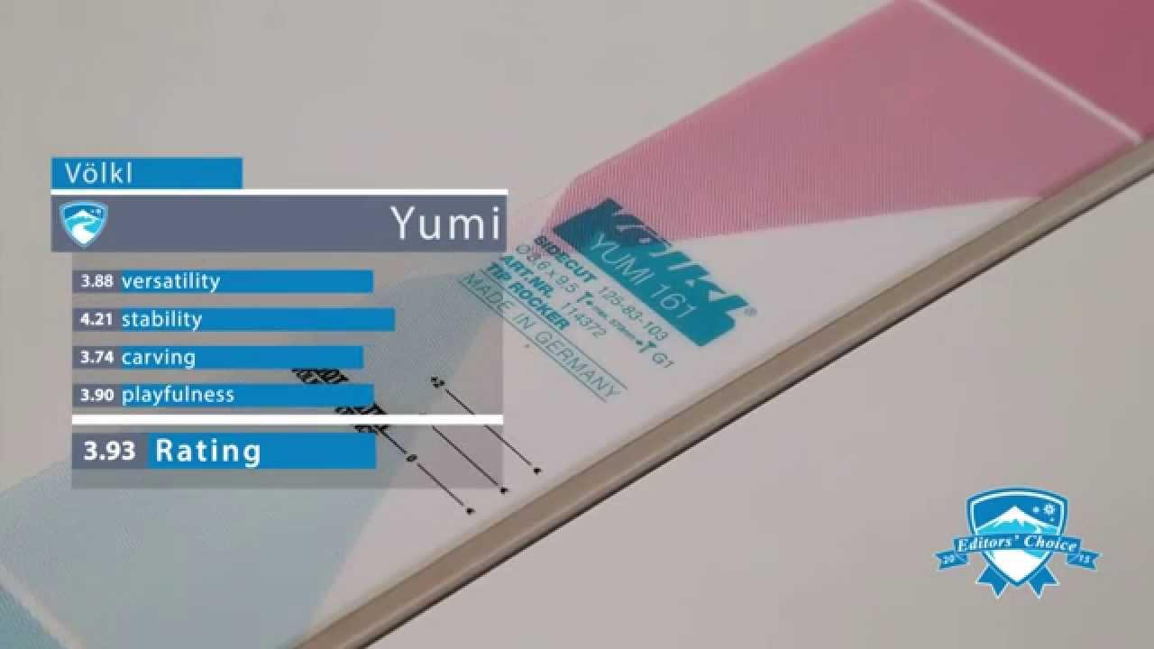 2015 Völkl Yumi - Ski Review