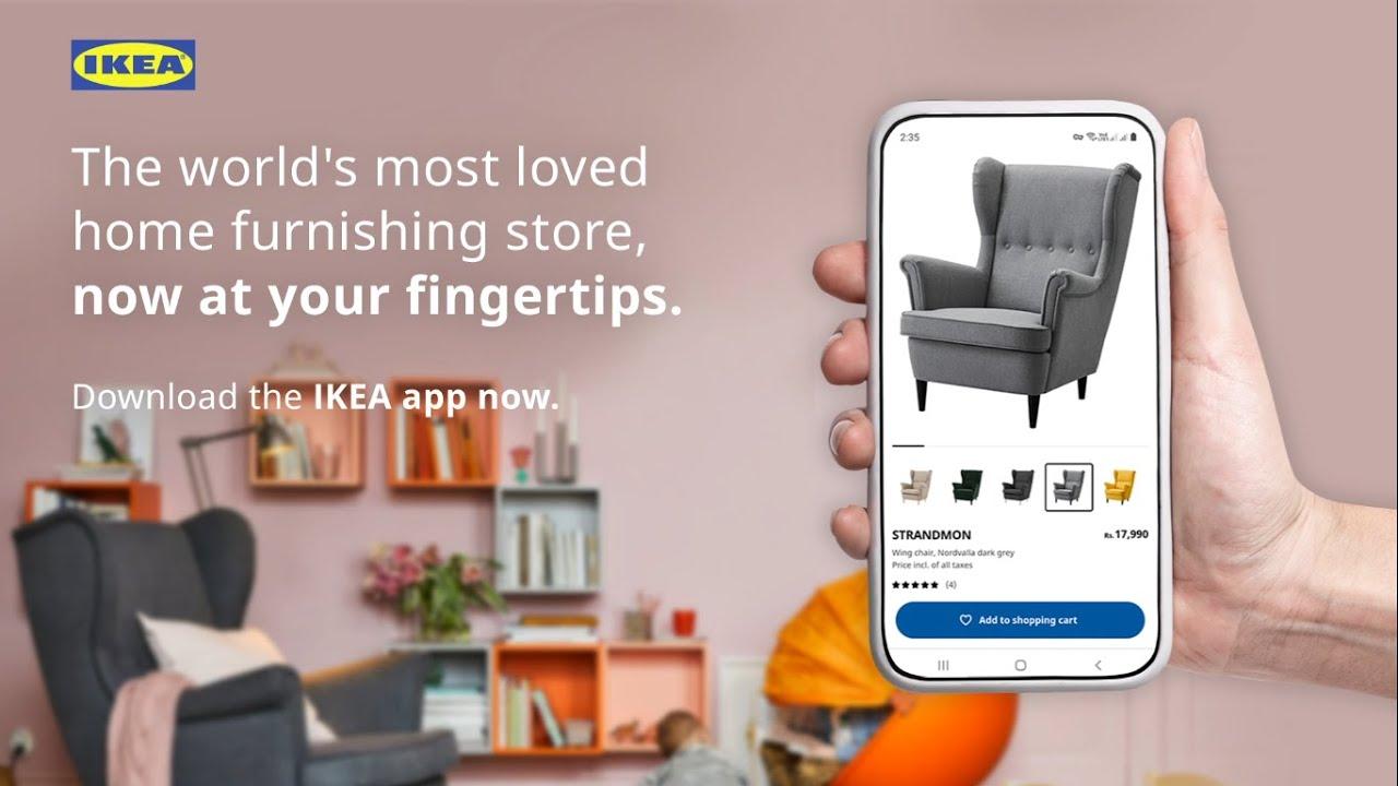 launching the ikea app - youtube