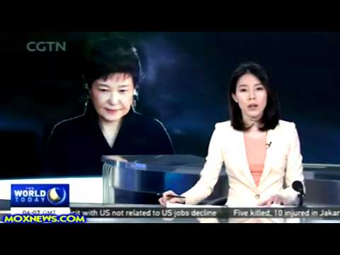 Video Shows Former South Korean President Park In Handcuffs!