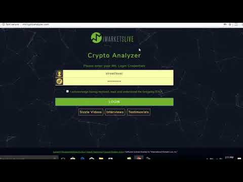Crypto currency trading iml