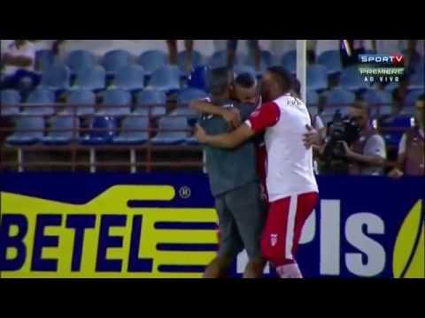 CRB 2 x 1 Criciúma   GOLS e Melhores Momentos 1º tempo   Brasileirão Série B 27 05 2016
