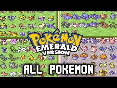 Pokémon Ruby/Sapphire/Emerald - ALL 386 Pokémon In PC (Complete Pokédex)
