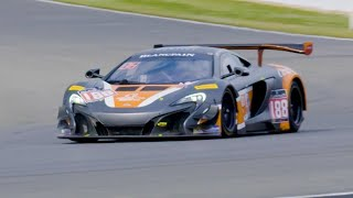 McLaren 650S GT3 at Silverstone | Chris Harris Drives | Top Gear