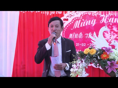 Lễ Thành Hôn Đôi Bạn Văn Kha vs Minh Thu Hôn Lễ Tổ Chức Hai Gia Đình ngày 21/02/2018