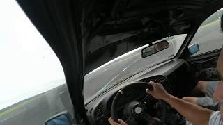 Dokurviator-poślizg przy 190-200kmh SLIDE BMW e36 STOCK CAR