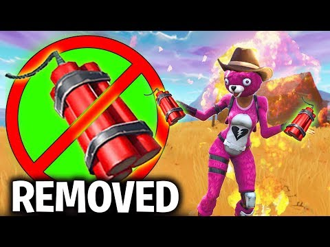 Fortnite has DISABLED the NEW DynamiteThis is why it got Disabled Fortnite Battle Royale