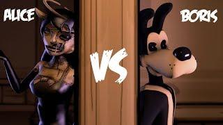 Download [SFM BATIM] Alice Angel vs Boris Rap Battle (Rockit Gaming) Mp3 and Videos