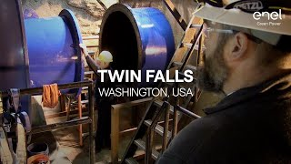 Enel Green Power's plant in the world: Twin Falls, USA