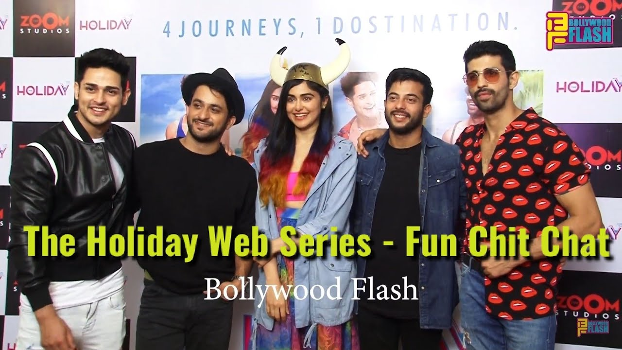 Priyank Sharma Adah Sharma Star Cast Full Interview The Holiday Web Series Youtube