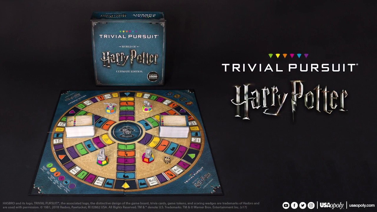 trivial pursuit harry potter dansk