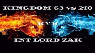 Clash of Kings: kvk 63 vs 210! INT Alliance Lord Zak [Massive Bugs] (2019)[Clash of Bugs]