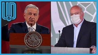 Enrique Bonilla, presidente de la Liga MX, estaba muy inspirado, pero...