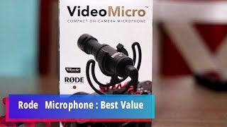 Rode VideoMicro Compact On-Cam…