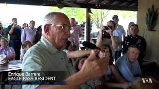 Border Congressman Confronts Tough Immigration Debate