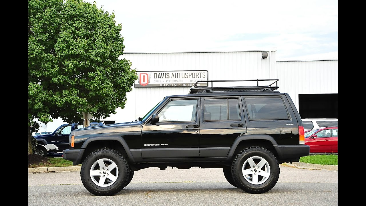 Cherokee Xj For Sale >> Davis AutoSports LIFTED CHEROKEE SPORT XJ FOR SALE - YouTube