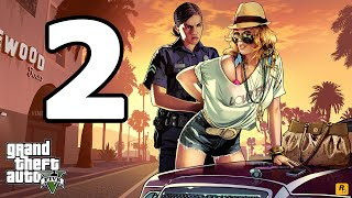 Grand Theft Auto 5 PC Walkthrough Part 2 - No Commentary Playthrough (PC)