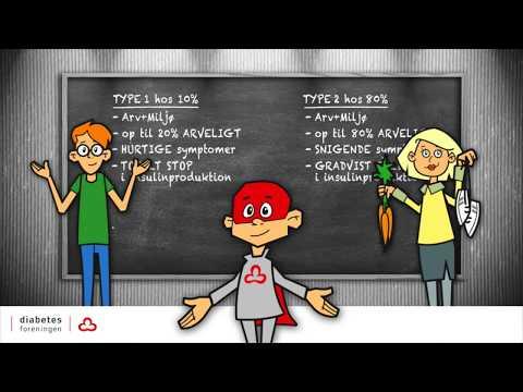 Diabetes 1 og 2 - forskelle og ligheder