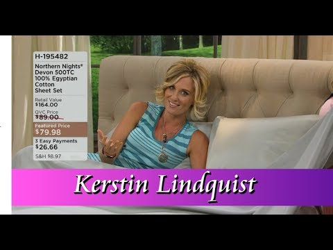 Qvc Host Kerstin Lindquist Youtube