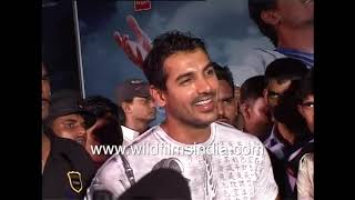 John Abraham Sings At The Music Release Of His Film Aashayein