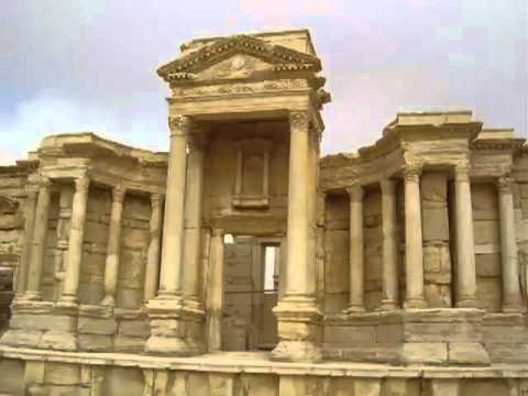 ‪The ancient roman ruins in Syria   Antichità della Siria‬‏   YouTube