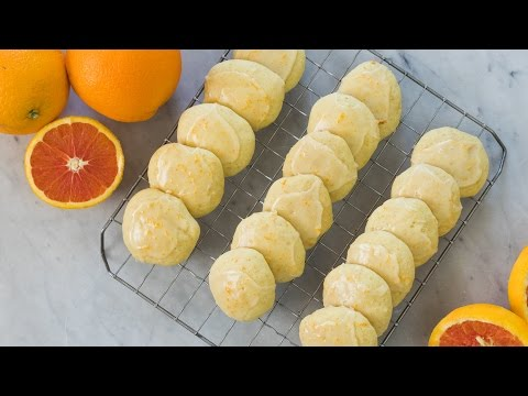 Citrus Glazed Orange Cookies | March Cookie of the Month