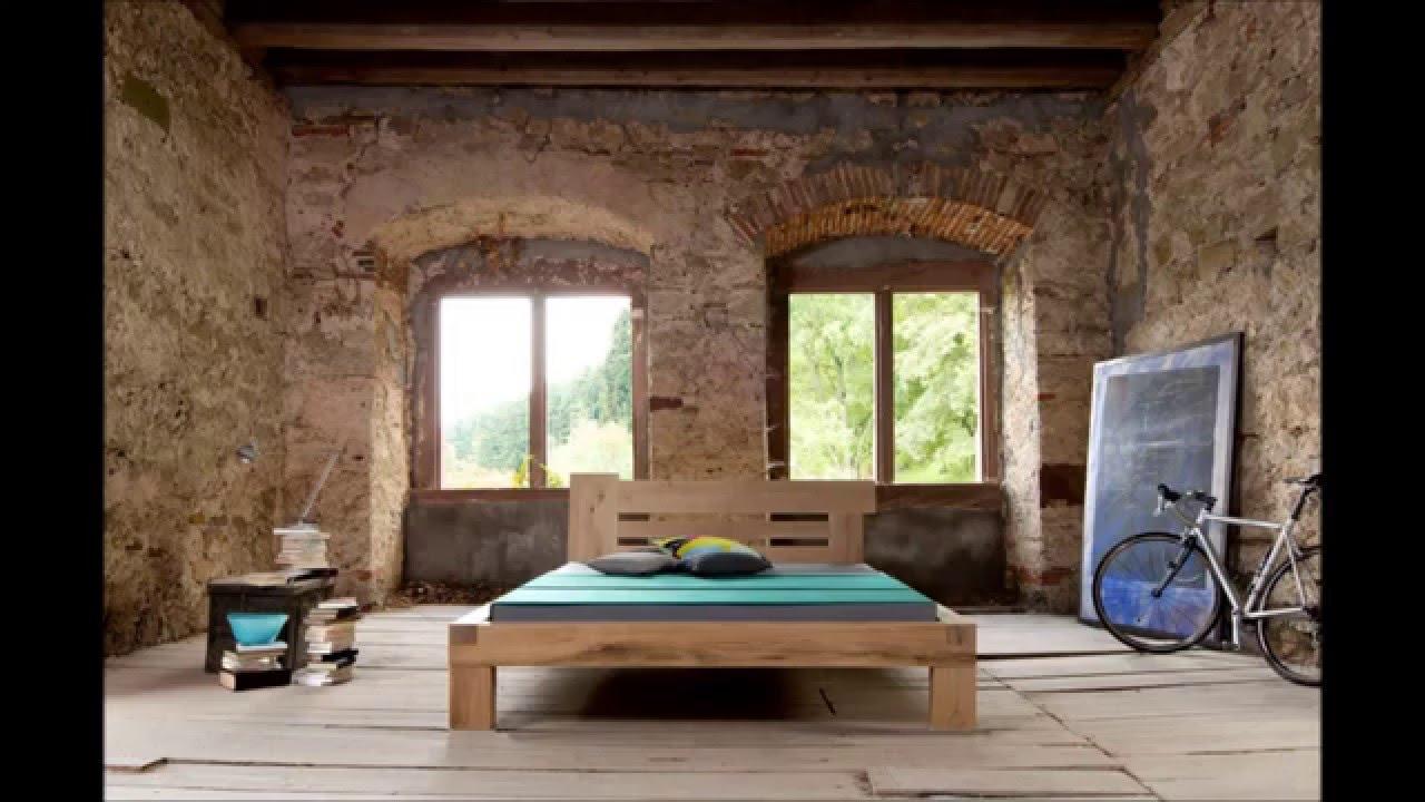 Massivholzbetten design  BettKonzept - Balkenbetten, Massivholzbetten, Schlafsysteme ...