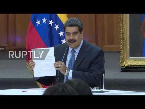 Venezuela: Maduro issues 'diplomatic protest' against regional critics