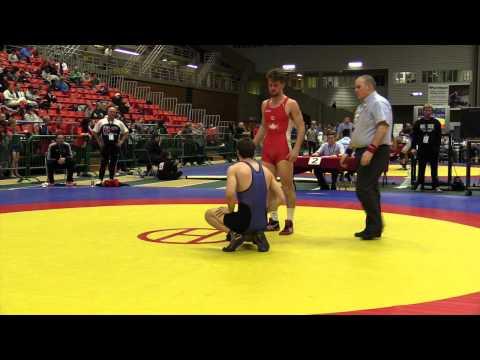 2014 Junior National Championships: 74 kg Andrew Johnson vs. Ben Christopher