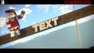 Top 10 Minecraft Intro Template + Free Downloads (Blender Only)