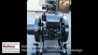 Deutsche Werke SZ21 w zbiorach Muzeum Rolnictwa im. ks. Krzysztofa Kluka w Ciechanowcu