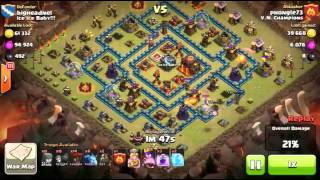 Clash of Clans | War top 3 star Ice Ice Baby vs VN Champions - CongdongCOC