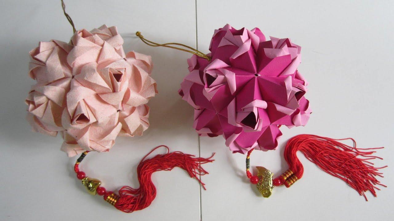 tutorial little roses kusudama creator maria sinayskaya youtube rh youtube com Kusudama Flower Diagrams Origami Clover Kusudama Diagrams