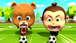 Penalty Shoot Out | Kids Show For Children | Cartoons For Kids By Loco Nuts