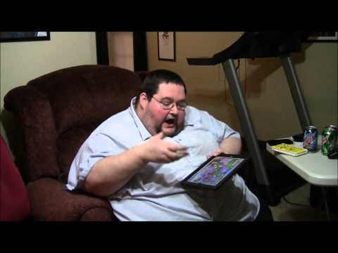 Fat Guy Spends $380 on CANDY CRUSH